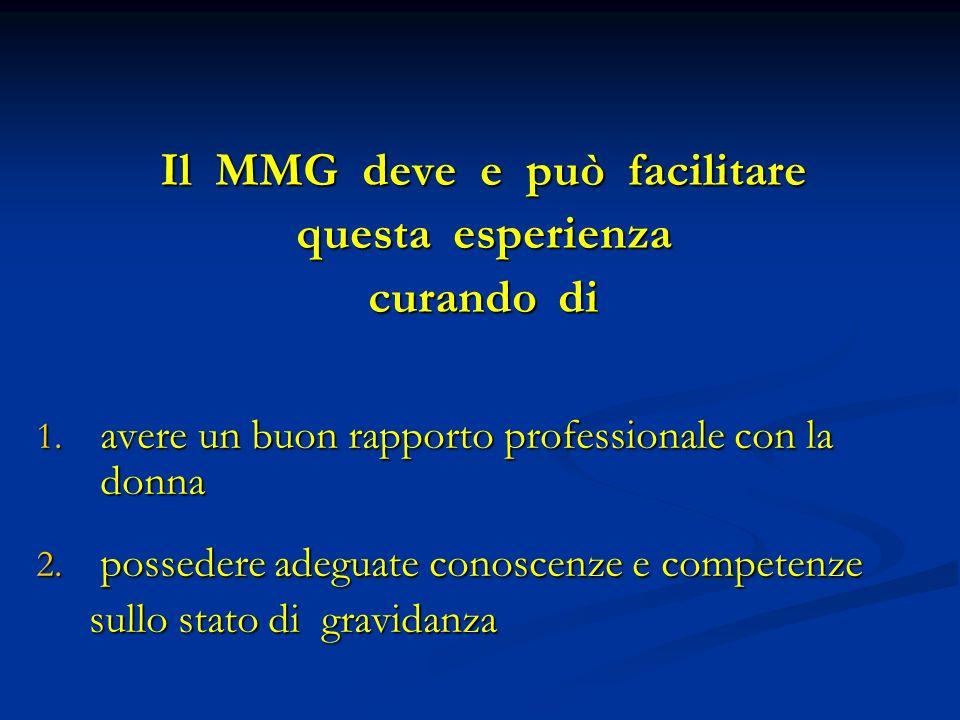 Il MMG deve e può facilitare