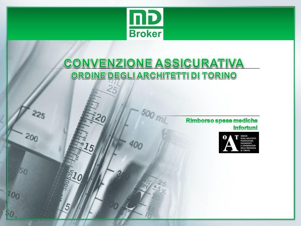 CONVENZIONE ASSICURATIVA ORDINE DEGLI ARCHITETTI DI TORINO