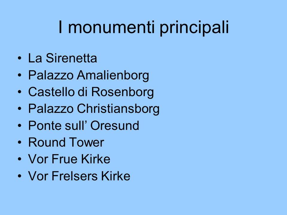 I monumenti principali