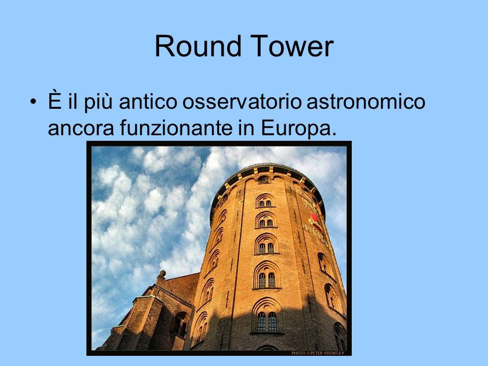 Round Tower È il più antico osservatorio astronomico ancora funzionante in Europa.