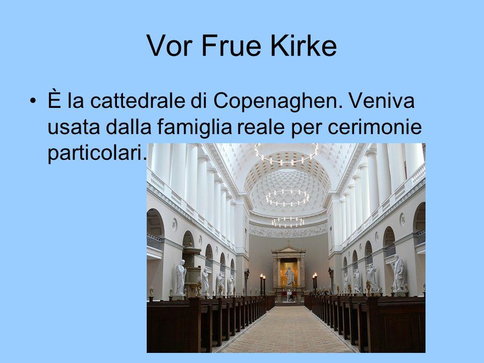 Vor Frue Kirke È la cattedrale di Copenaghen.