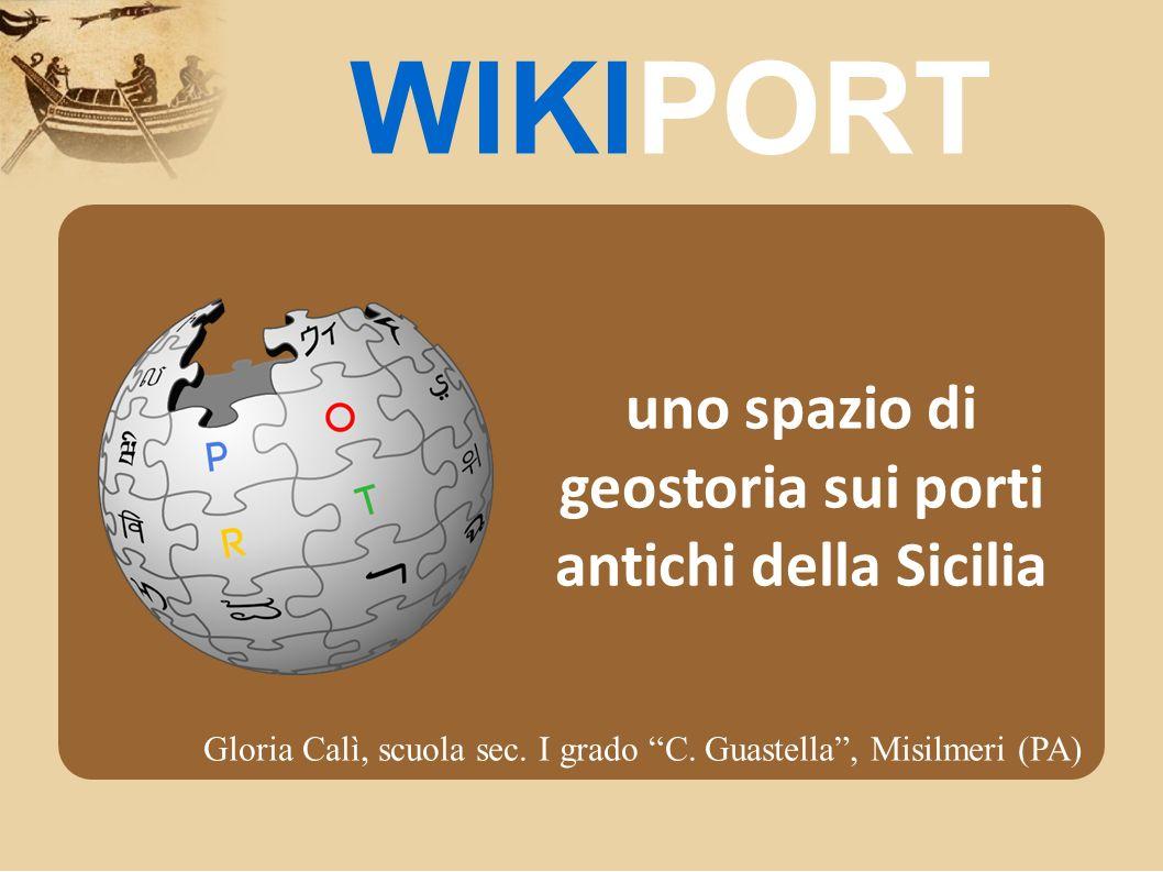 uno spazio di geostoria sui porti antichi della Sicilia