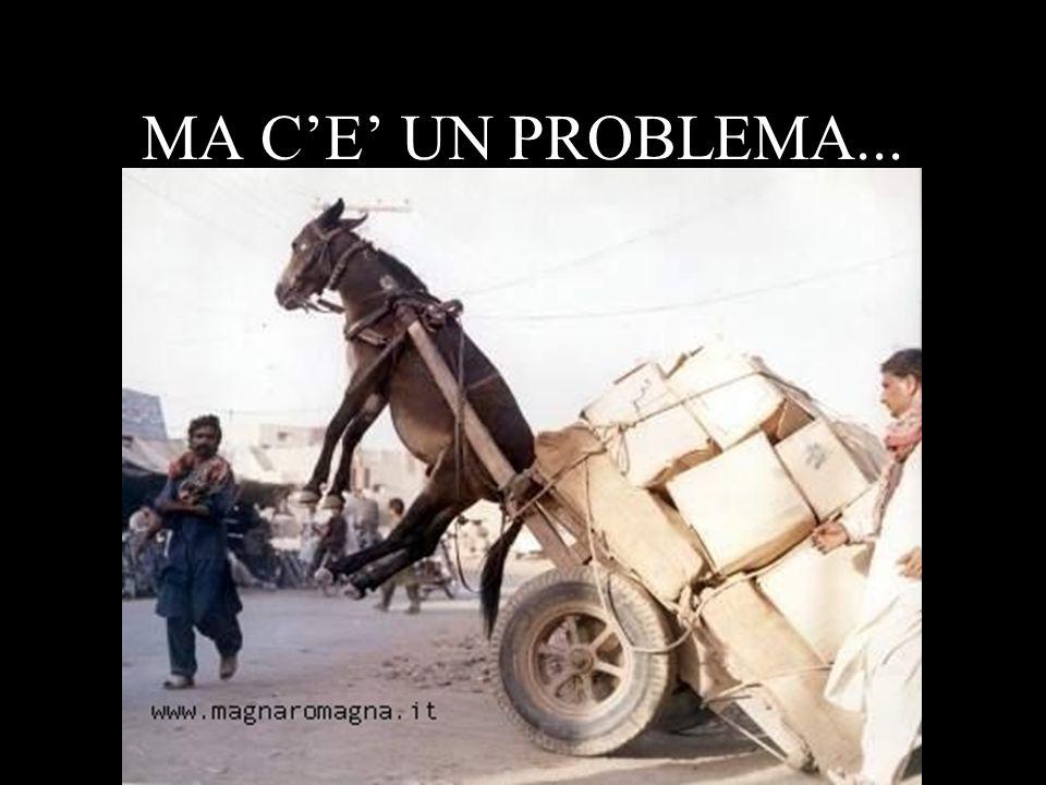 MA C'E' UN PROBLEMA...