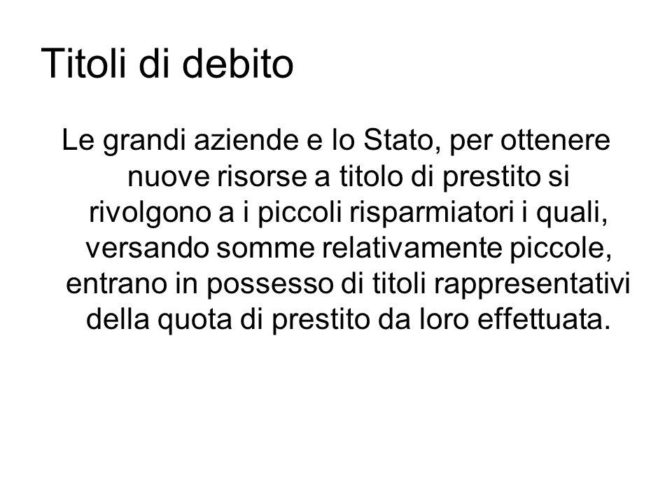 Titoli di debito