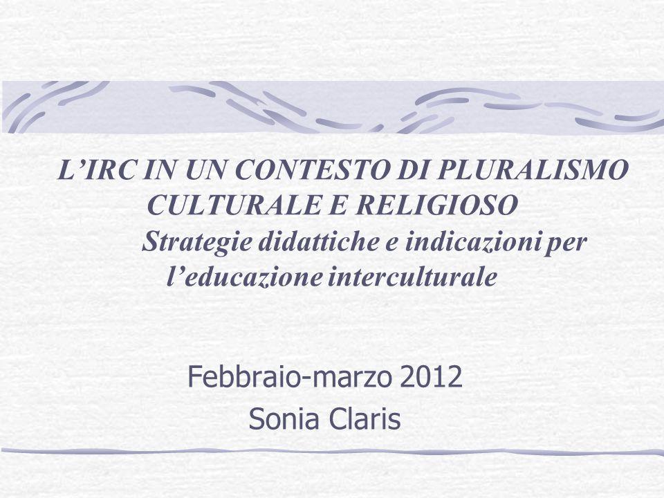 Febbraio-marzo 2012 Sonia Claris