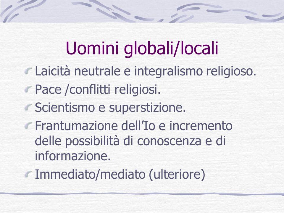 Uomini globali/locali