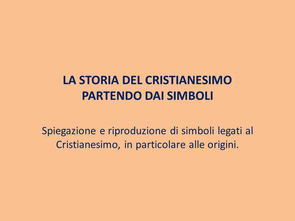 LA STORIA DEL CRISTIANESIMO PARTENDO DAI SIMBOLI