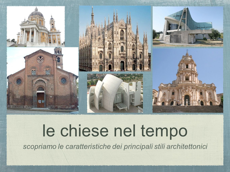 scopriamo le caratteristiche dei principali stili architettonici