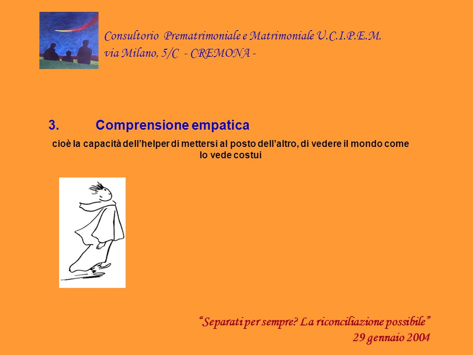 3. Comprensione empatica