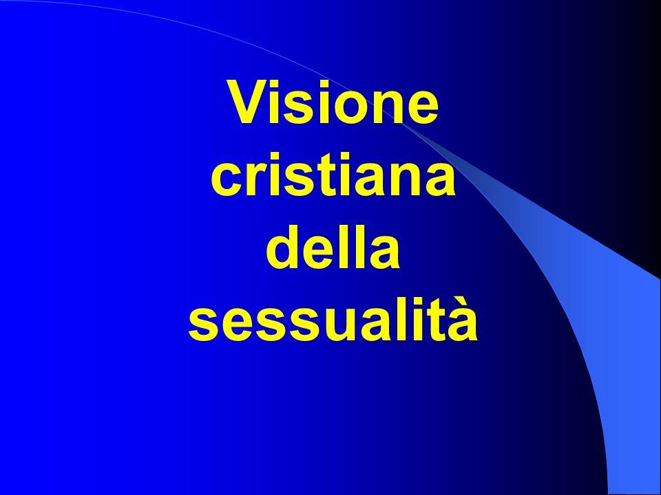 Visione cristiana della sessualità