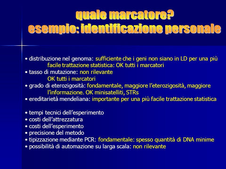 esempio: identificazione personale