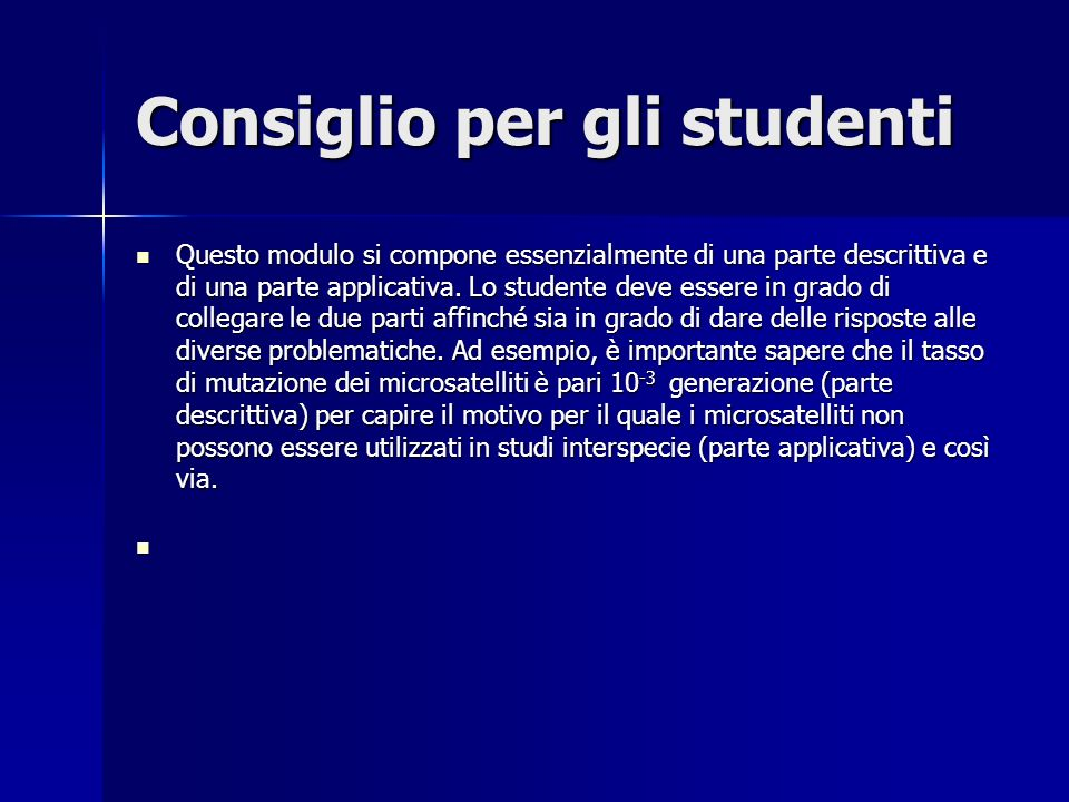 Consiglio per gli studenti