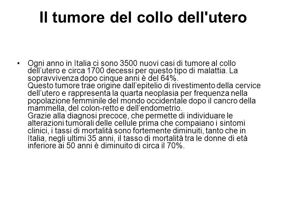 Il tumore del collo dell utero