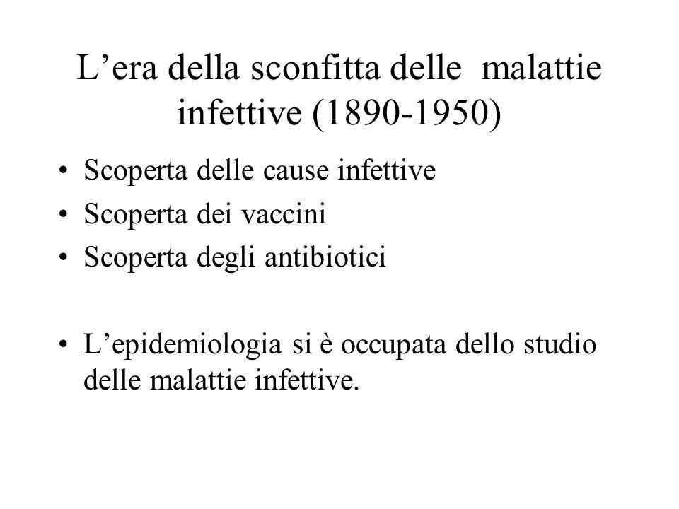 L'era della sconfitta delle malattie infettive (1890-1950)