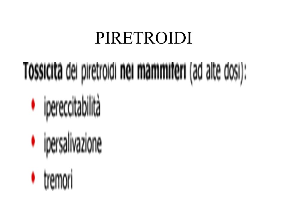 PIRETROIDI