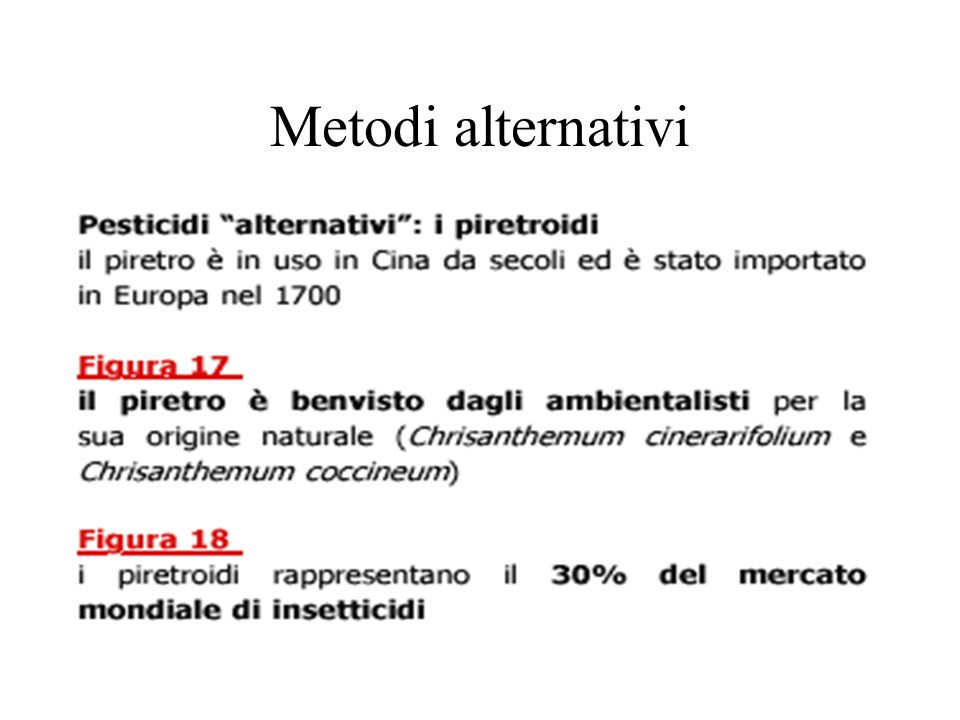 Metodi alternativi