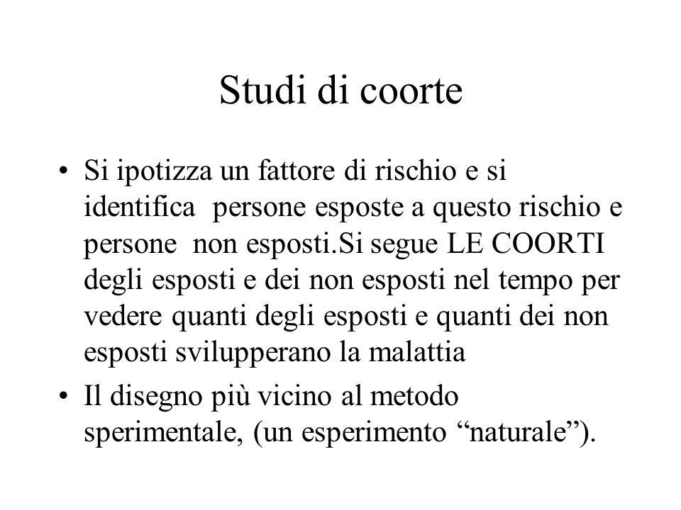 Studi di coorte