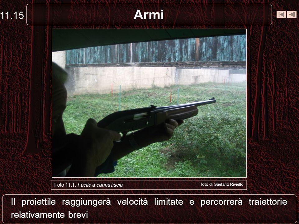 11.15 Armi. Foto 11.1: Fucile a canna liscia. foto di Gaetano Riviello.