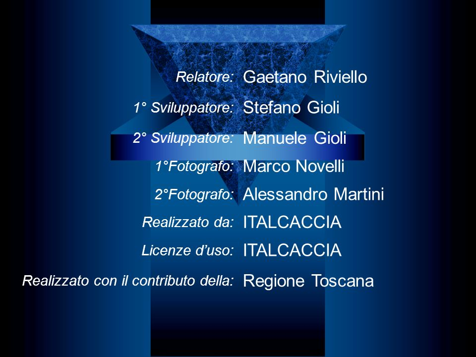 Gaetano Riviello Stefano Gioli Manuele Gioli Marco Novelli