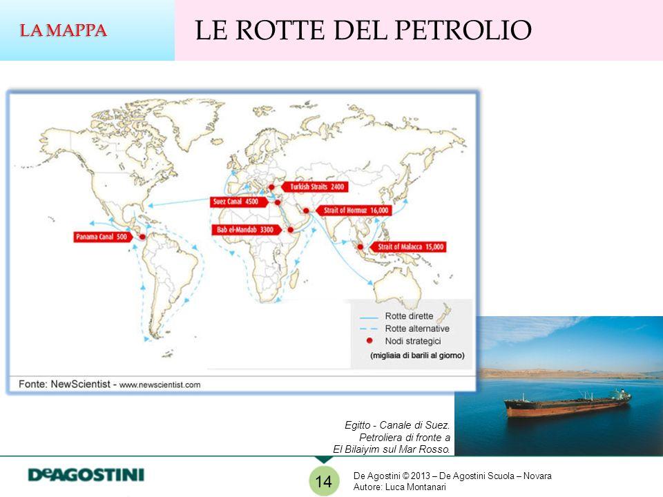 LE ROTTE DEL PETROLIO LA MAPPA 14