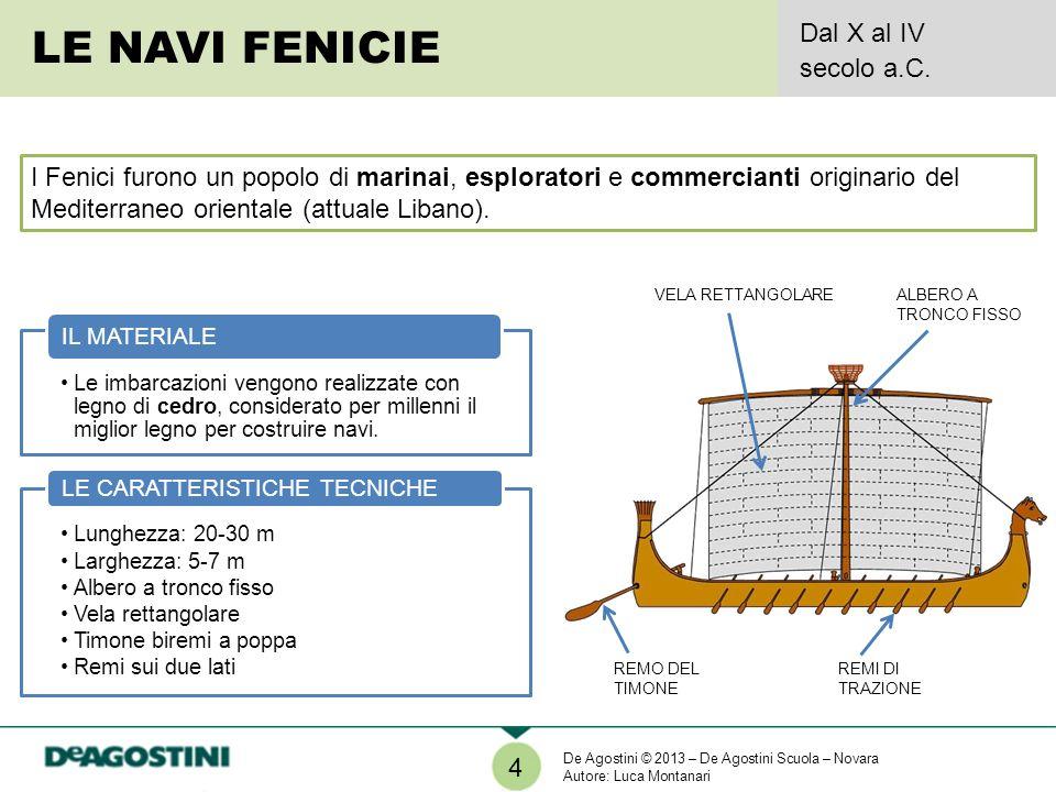 LE NAVI FENICIE Dal X al IV secolo a.C.