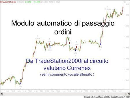 Trade system automatico