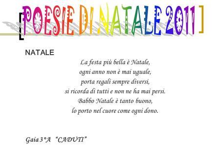Poesie Di Natale Corte Per Bambini.Auguri Natale E Bello La Mattina Di Un Giorno Di Festa
