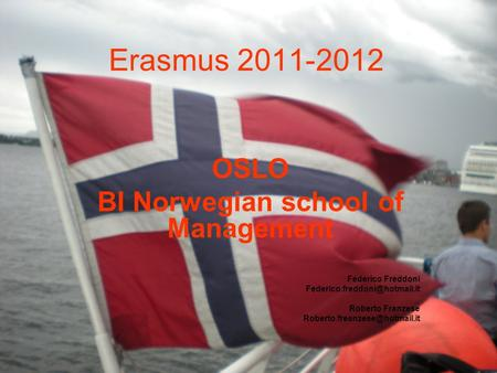 BI Norwegian school of Management