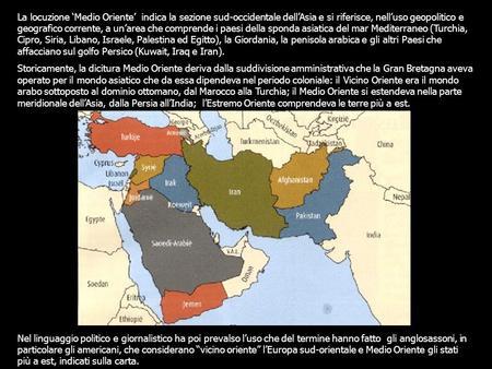 Cartina Asia Occidentale.L Asia Sud Occidentale Ppt Scaricare