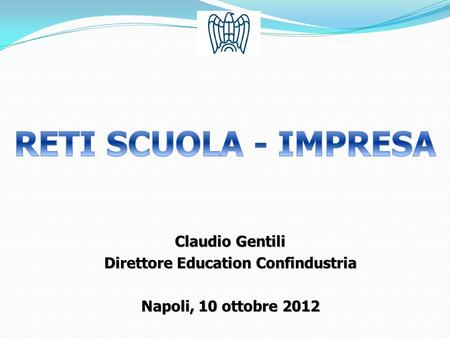 Direttore Education Confindustria