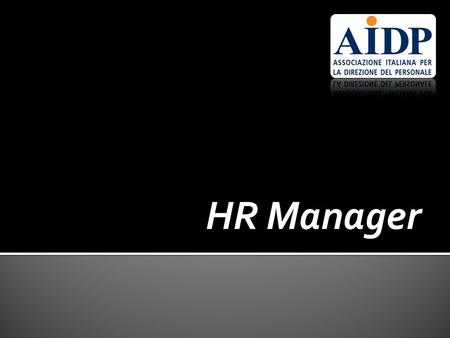 HR Manager.