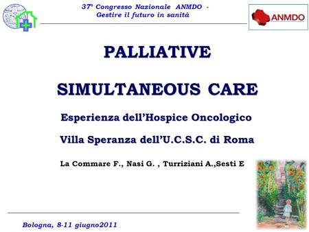 PALLIATIVE SIMULTANEOUS CARE