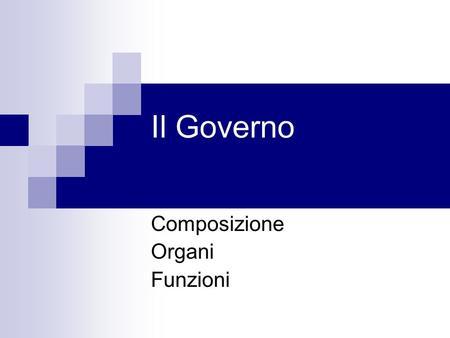 L ordinamento della repubblica com fatto lo stato for Composizione parlamento italiano