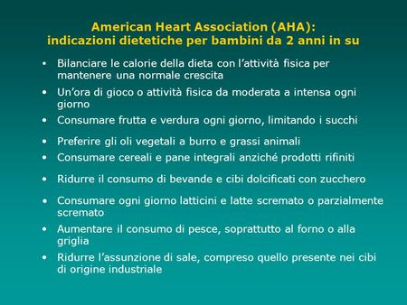 American Heart Association (AHA):