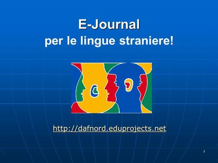 E-Journal per le lingue straniere!