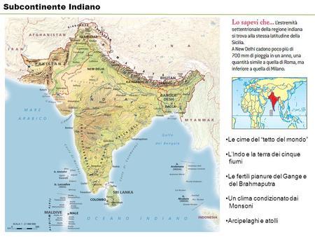 India Politica Cartina.Il Subcontinente Indiano Ppt Video Online Scaricare
