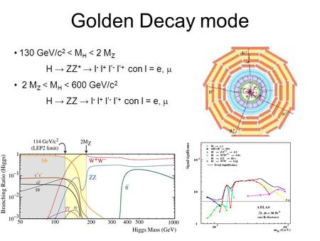 Golden Decay mode 130 GeV/c2 < MH < 2 MZ