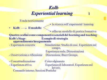 Kolb Experiential learning 1