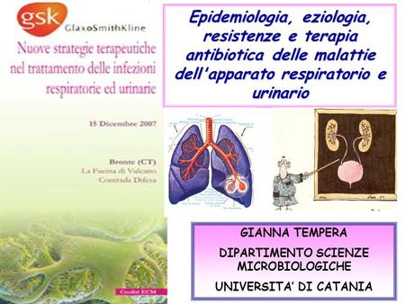 DIPARTIMENTO SCIENZE MICROBIOLOGICHE UNIVERSITA' DI CATANIA