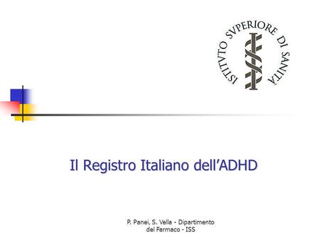 Il Registro Italiano dell'ADHD