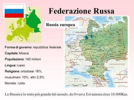 Cartina Fisica Russia Asiatica.La Russia Ppt Video Online Scaricare