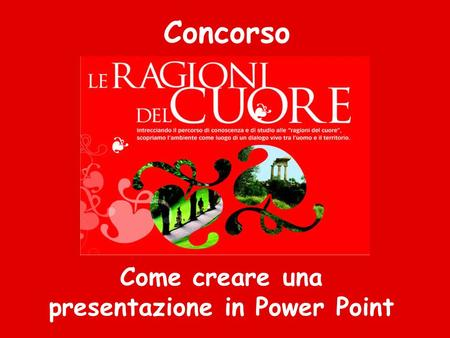 Come creare una presentazione in Power Point