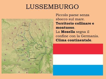 Territorio Lussemburgo Cartina Fisica.Belgio Ppt Video Online Scaricare