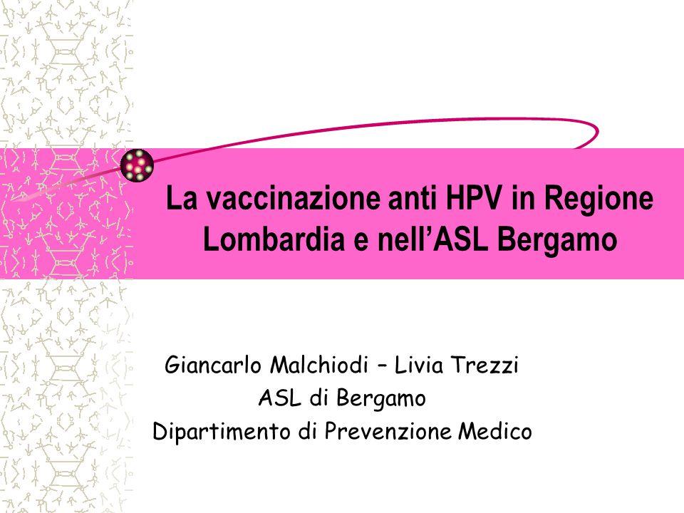 Vaccinazione papilloma virus maschi regione lombardia - Vaccino papilloma virus gratuito lombardia
