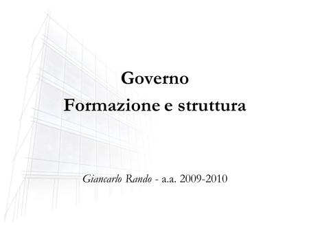 1 il bilancio dello stato italiano 2 il bilancio dello for Struttura del parlamento