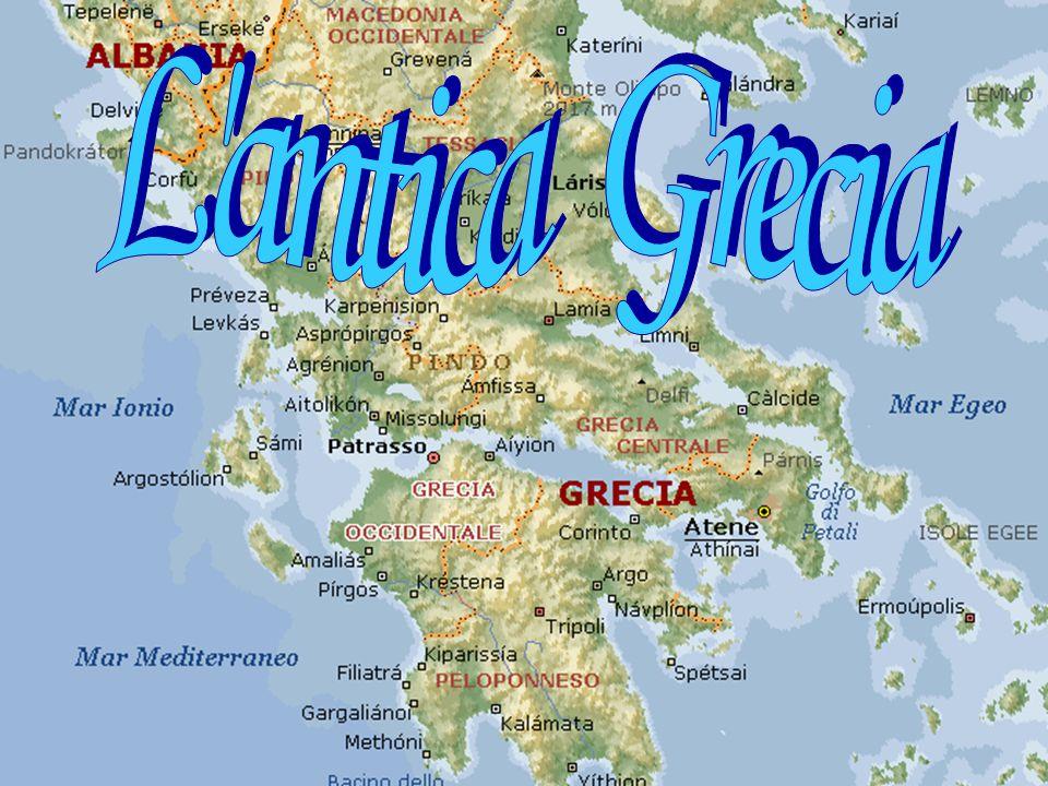 Cartina Puglia Grecia.L Antica Grecia Ppt Video Online Scaricare