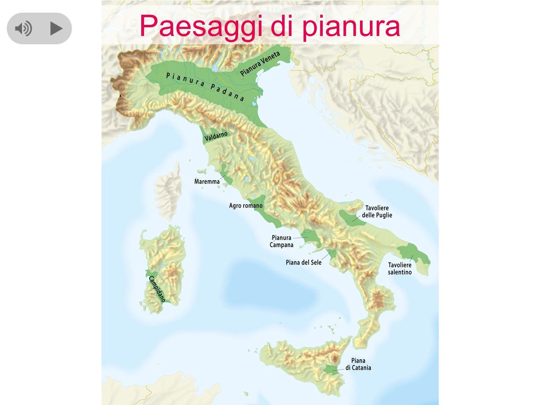 Cartina Italia Pianure.Paesaggi Di Pianura Ppt Video Online Scaricare