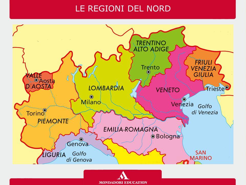 Cartina Nord Italia Con Regioni.03 07 12 Le Regioni Del Nord Ppt Video Online Scaricare