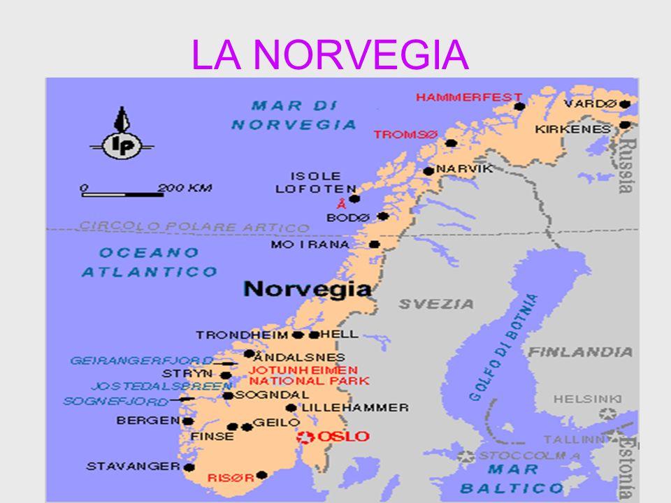 Cartina Geografica Norvegia Fisica.La Norvegia Ppt Scaricare