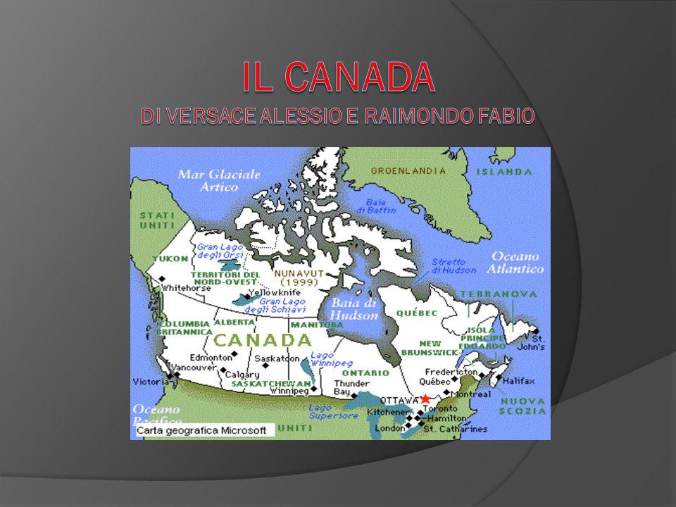 Canada Cartina Fisica.Il Canada Di Versace Alessio E Raimondo Fabio Ppt Scaricare